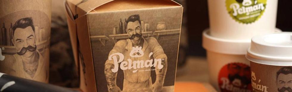 Персонаж для сети ресторанов Pelman